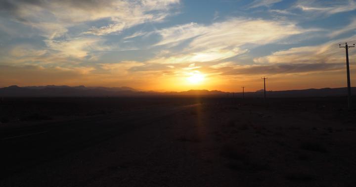 iranian-sunset
