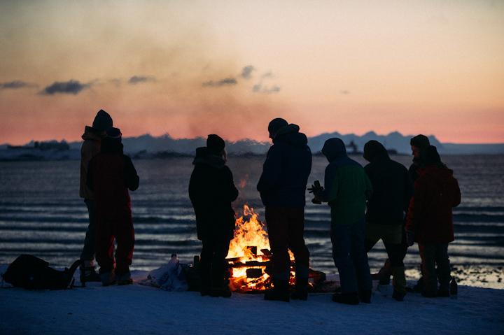 Svalbike_bonfire